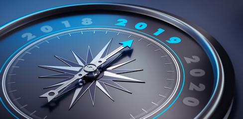Dunkler Kompass - 2019