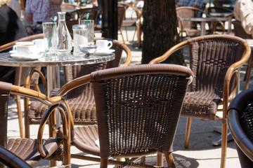 Obraz Uliczna kafejka - fototapety do salonu