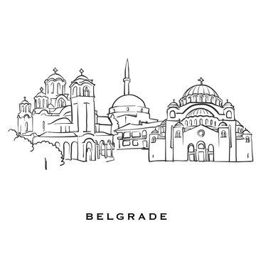 Belgrade Serbia famous architecture