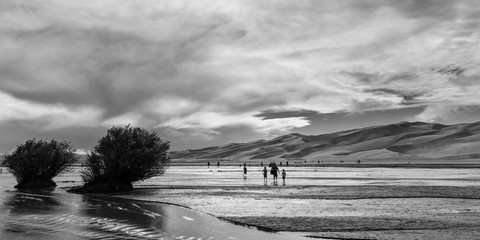 Medano Creek at the Great Sand Dunes
