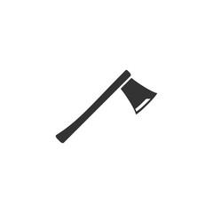 Axe icon flat