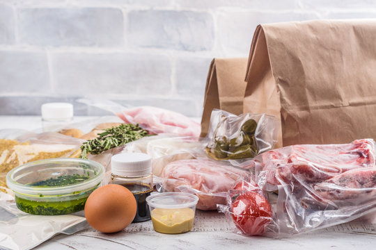 Healthy daily meals delivery