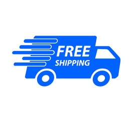 Fast and Free Shipping vector trust logo