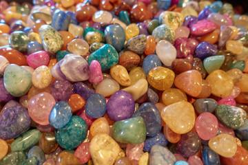multicolored gem stones and rocks