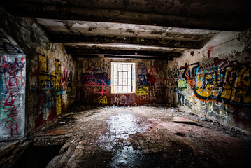 Abandoned Paper Mill in Canada