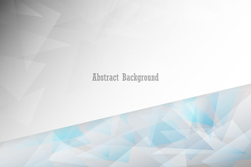 Gray geometric abstract background, illustration vector eps10
