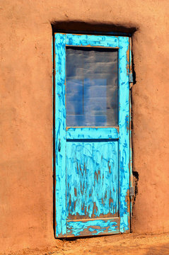 Adobe and Door
