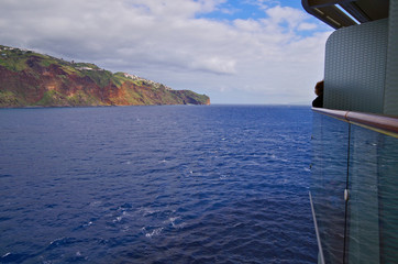 Cruise ship arrival to Funchal