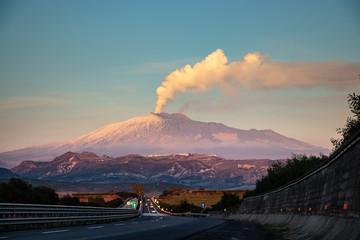 Etna, Sicilia Fototapete