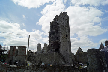 Askeaton Castle, east view