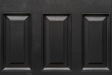 Vintage black door panels - high quality texture / background