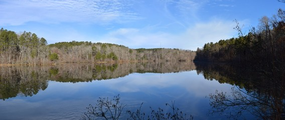 Travis McNatt Lake in Big Hill Pond State Park Tennessee