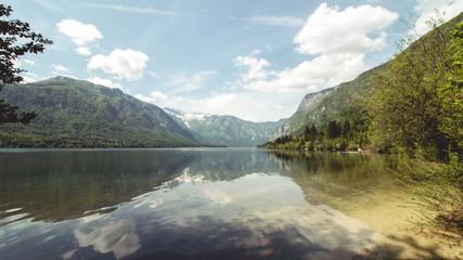 The beautiful national park of Slovenia - Triglav