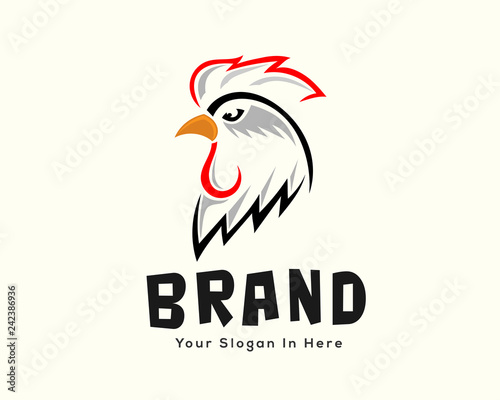 """Traditional chicken farm template logo design inspiration ... Chicken Farm Logo Design"