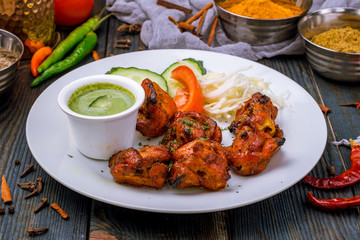 chicken tikka indian food
