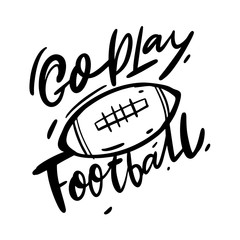 Go play football and balls patches vector illustration.