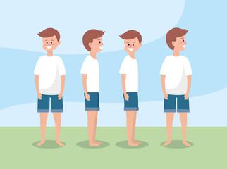 set man training exercise to healthy lifestyle