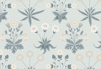 Daisy by William Morris (1834-1896). Original from The MET Museum. Digitally enhanced by rawpixel.