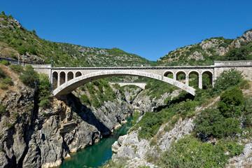 Gorges de Hérault, Saint-Jean-de-Fos, Languedoc-Roussillon, France