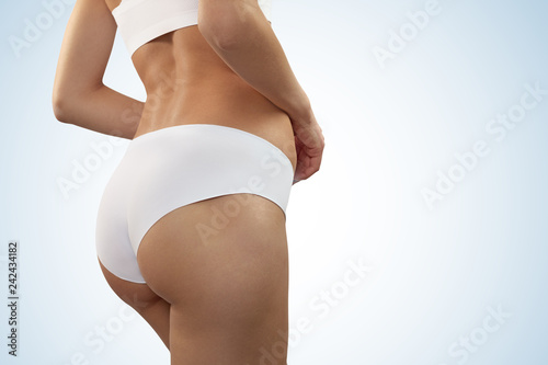 Beautiful Female Body In Underwear Stock Photo And Royalty