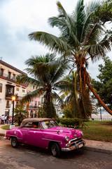oldtimer im Centro von Havanna
