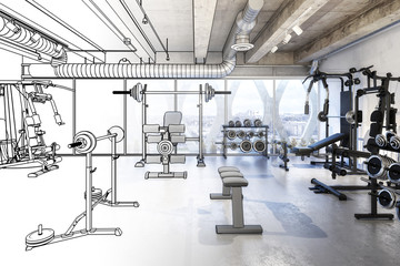 Weights Room (scetch)