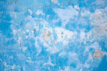 Texture of old blueplaster