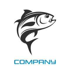 Modern Logo tuna fishing