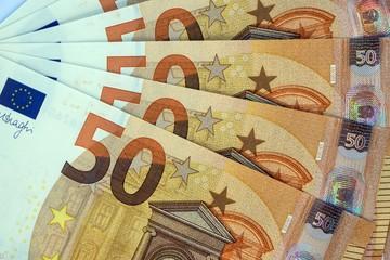 Bank notes, 50 euro notes