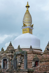 Buddhist temple in Nepal