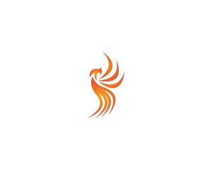 Phoenix icon vector illustration