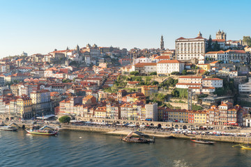 Ribeira is a district located on the banks of Douro river in the historic center of Porto and a world heritage site Fototapete