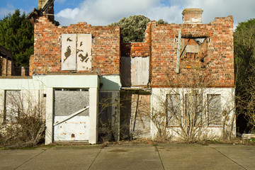 The house next door to Cuckoo Rest, Hellingly, East Sussex, UK