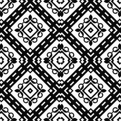 Abstract seamless retro art deco vintage ornamental background