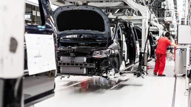 Automotive industry - Europe production line