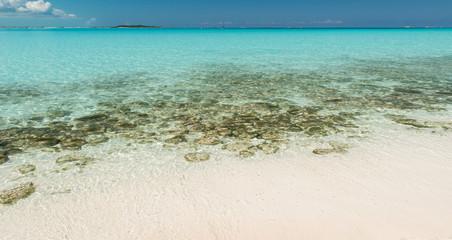 Beaches in Exuma, Bahamas