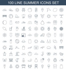 100 summer icons