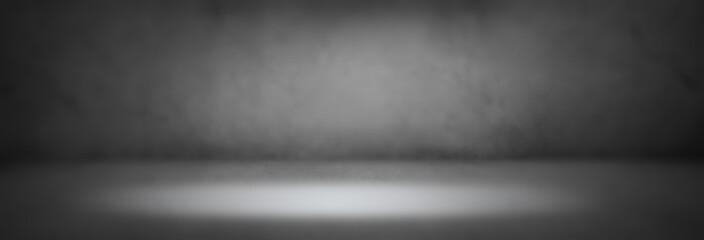 Blurred studio background