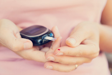 Measurnig blood sugar level