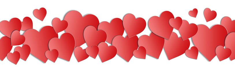 Valentines day hearts. Valentines Day border. Hearts background