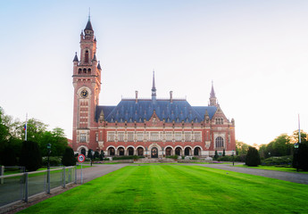 palace of peace in The Hague
