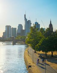 Fototapete - View of Frankfurt, Germany