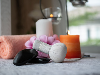 Spa theme object. Spa composition background