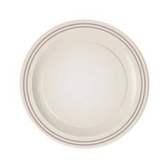 Ceramic plate illustration