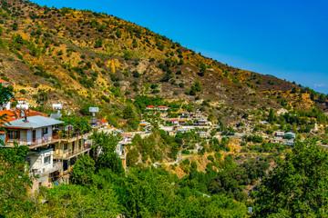 Moutoullas village on Cyprus