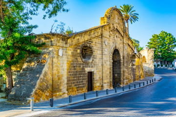 Famagusta gate at Nicosia, Cyprus Fotomurales