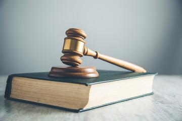 judge on book