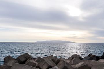 Ocean Coast's View in Tenerife South, Tenerife, Canary Islands