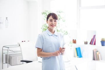 若手看護師のポートレート