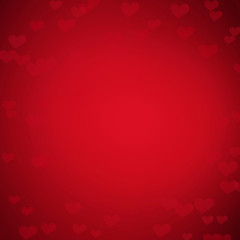 Valentine's day Card with hearts. Abstract   Background. Love, Wedding concept.